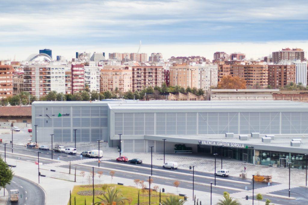 Estación de tren Ave Joaquin Sorolla