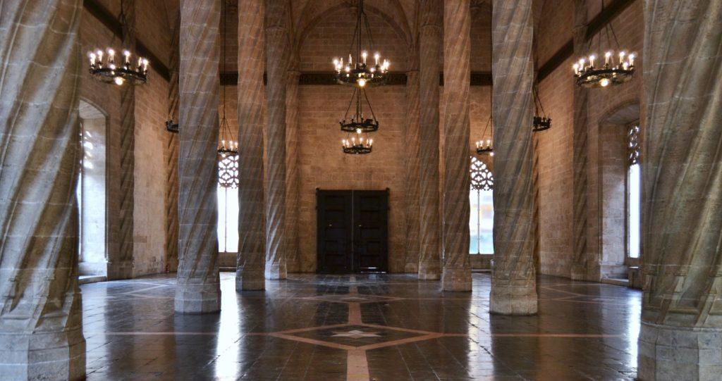 Lonja de los Mercaderes - Interiores