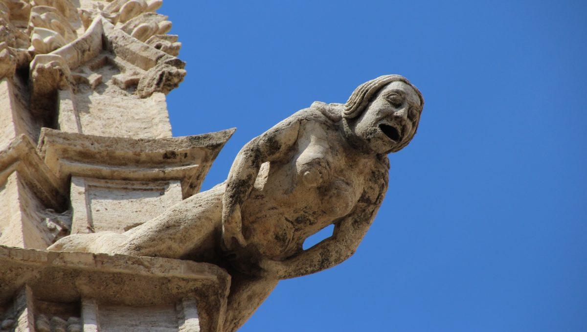Lonja de la Seda de Valencia - Gárgola