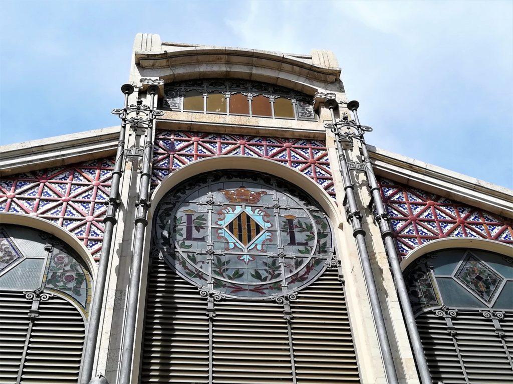 Escudo del Mercado Central