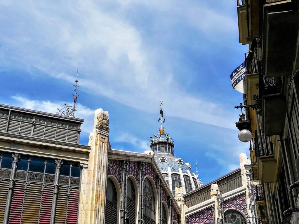 Fachada Exterior del Mercado