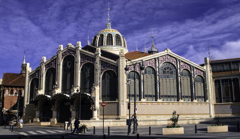 Mercado Central - Vista desde Lejos