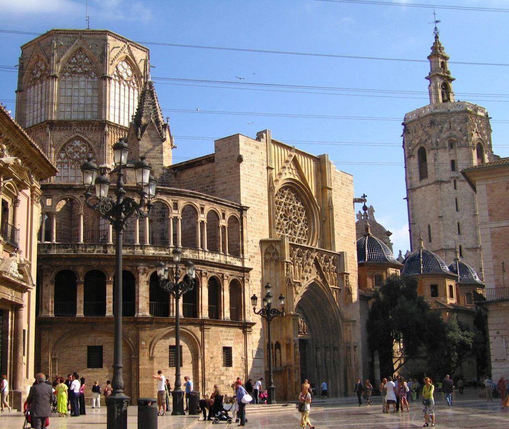 Miguelete torre campanario de la Catedal de Valencia